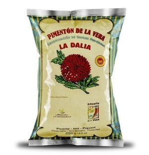 Sachet de paprika de La Vera 250g.