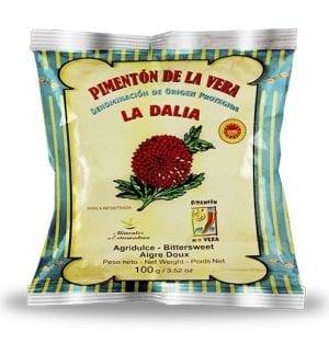 Sachet de paprika de La Vera 100g.