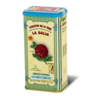 Boîte de paprika de La Vera 175g.