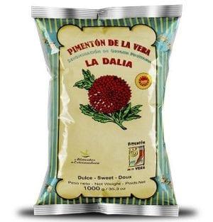 Bolsa de pimenton de la vera La Dalia 1 kg