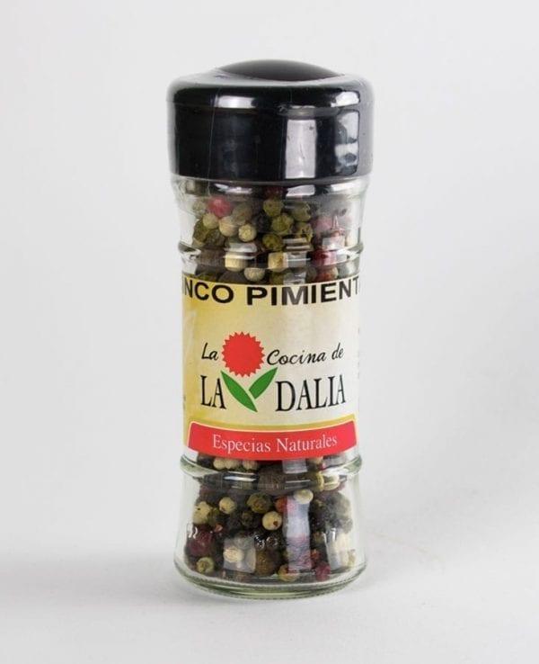 Cinco pimientas La Dalia