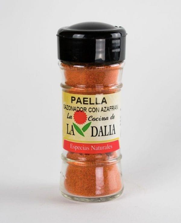 Especias para paella con azafran La Dalia