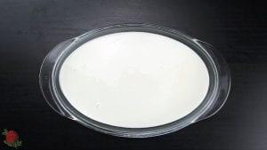 Pudding de Queso, Tasajo, Pimentón de la Vera Agridulce