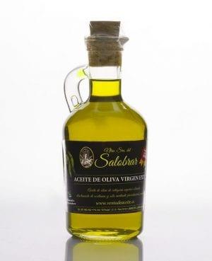 Aceite oliva jarrita vidrio