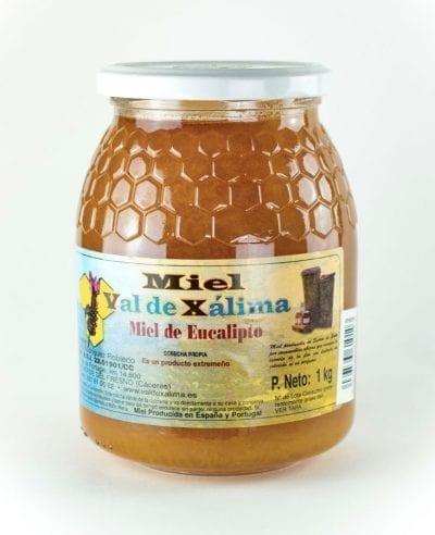 Miel eucalipto 1 k La Dalia
