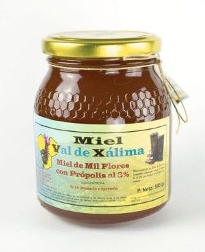 Miel con propolis 500 g La Dalia