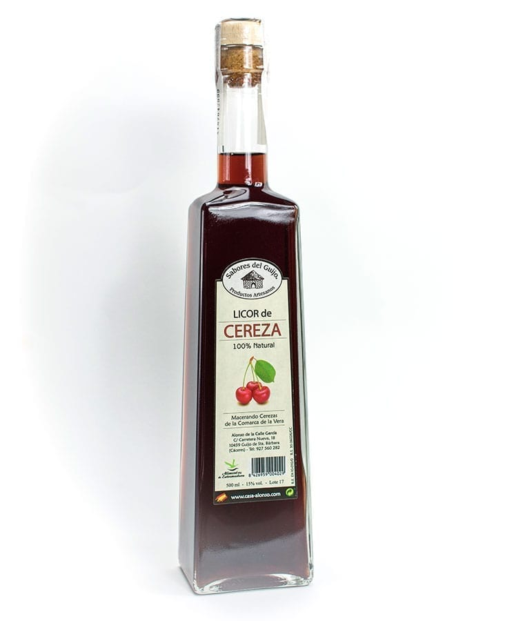 Licor de cereza 500 ml