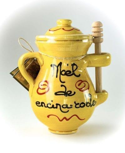 Miel de encina roble con catador La Dalia