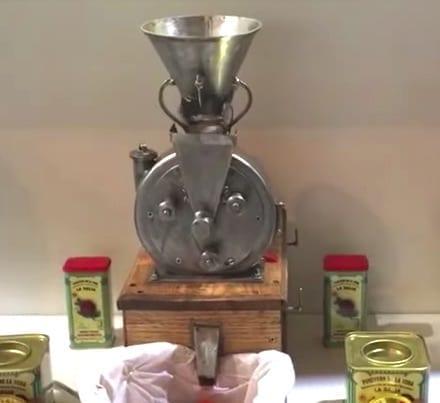 Alimentaria 2018: ¿¿Pimentón de La Vera con un molino de pimentón ENANO??