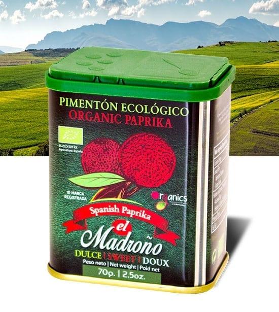 Pimentón ecológico El Madroño