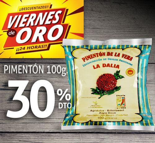 Bolsa de pimentón de la vera agridulce 100 gramos
