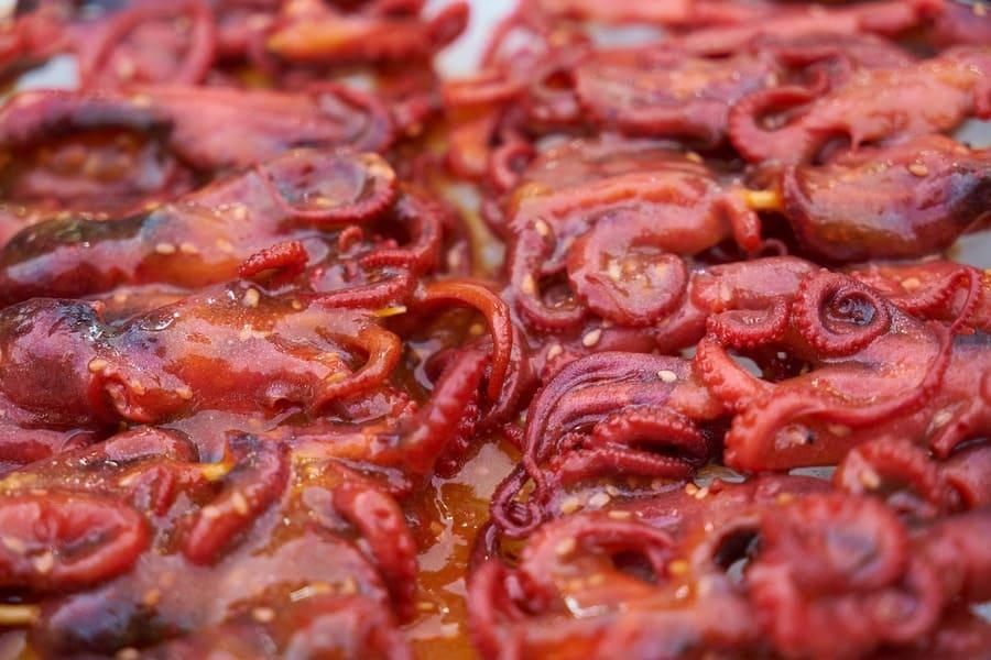 Pulpo en salsa con Pimentón de La Vera